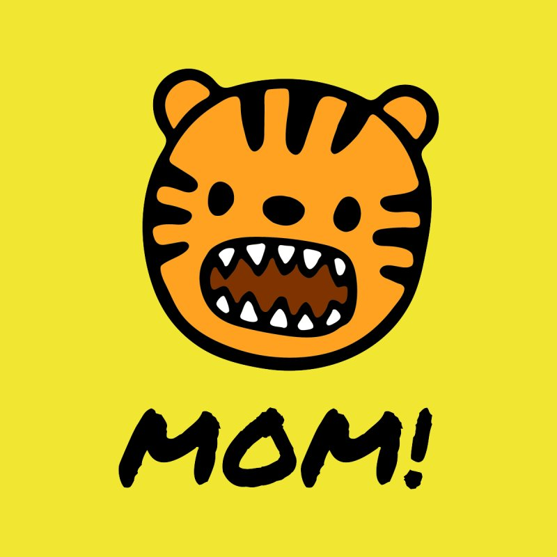 Tiger Mom Men's T-Shirt by Dark Helix's Artist Shop