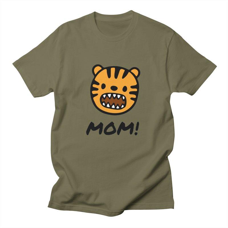 Tiger Mom Men's T-Shirt by Dark Helix's Artist Shop