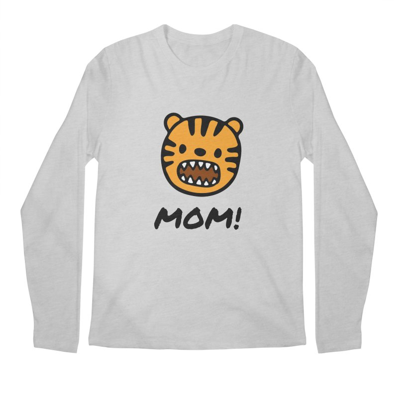 Tiger Mom Men's Regular Longsleeve T-Shirt by Dark Helix's Artist Shop