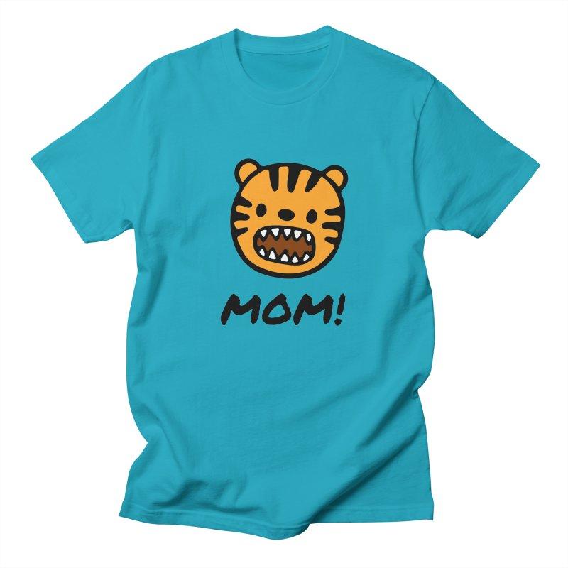 Tiger Mom Men's Regular T-Shirt by Dark Helix's Artist Shop