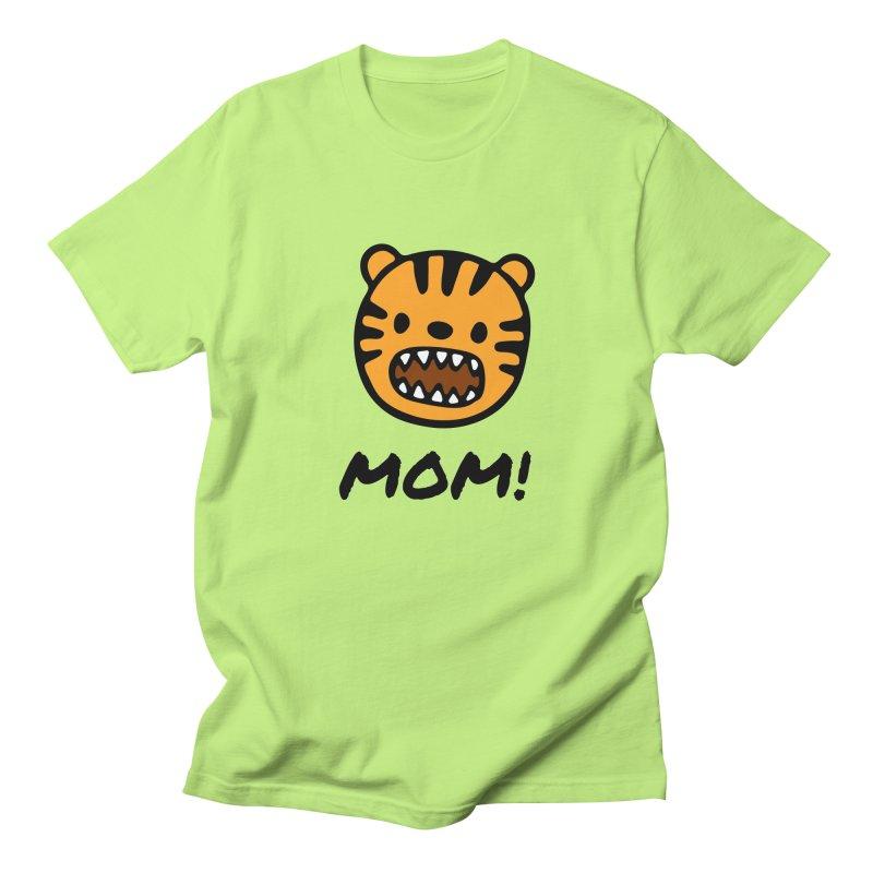 Tiger Mom Women's Regular Unisex T-Shirt by Dark Helix's Artist Shop