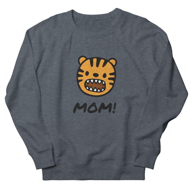 Tiger Mom Men's French Terry Sweatshirt by Dark Helix's Artist Shop