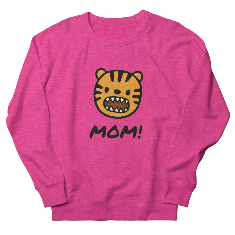 Tiger Mom Men's French Terry Sweatshirt by Dark Helix's Artist Shop