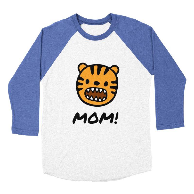 Tiger Mom Women's Baseball Triblend Longsleeve T-Shirt by Dark Helix's Artist Shop