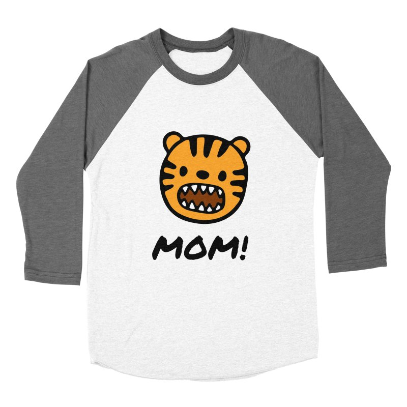Tiger Mom Women's Longsleeve T-Shirt by Dark Helix's Artist Shop