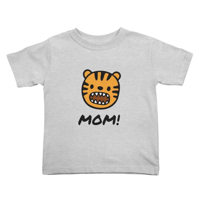 Tiger Mom Kids Toddler T-Shirt by Dark Helix's Artist Shop