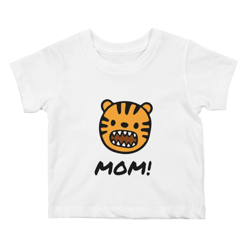 Tiger Mom Kids Baby T-Shirt by Dark Helix's Artist Shop