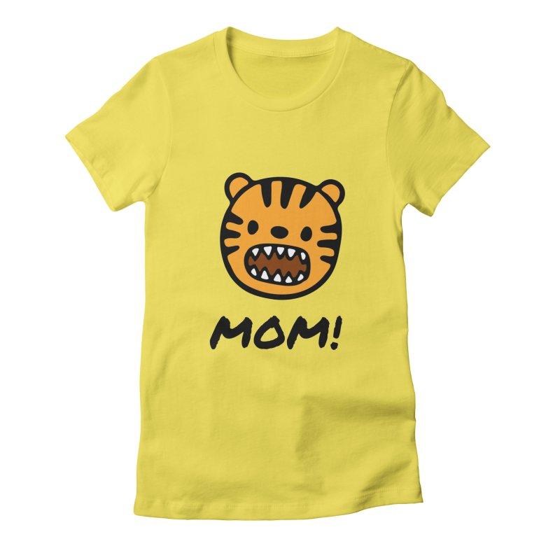 Tiger Mom Women's T-Shirt by Dark Helix's Artist Shop