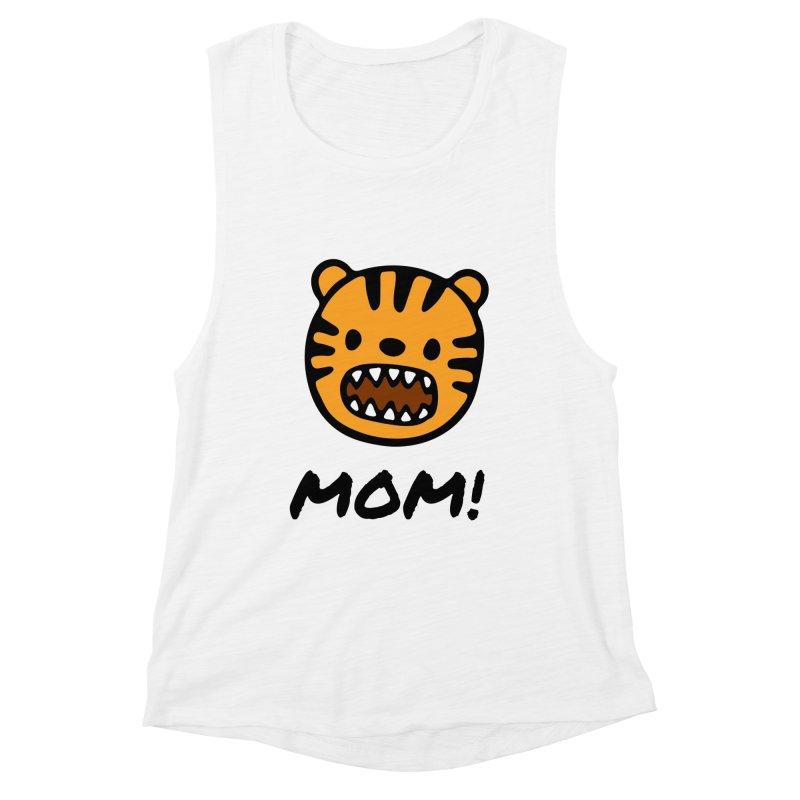 Tiger Mom Women's Tank by Dark Helix's Artist Shop
