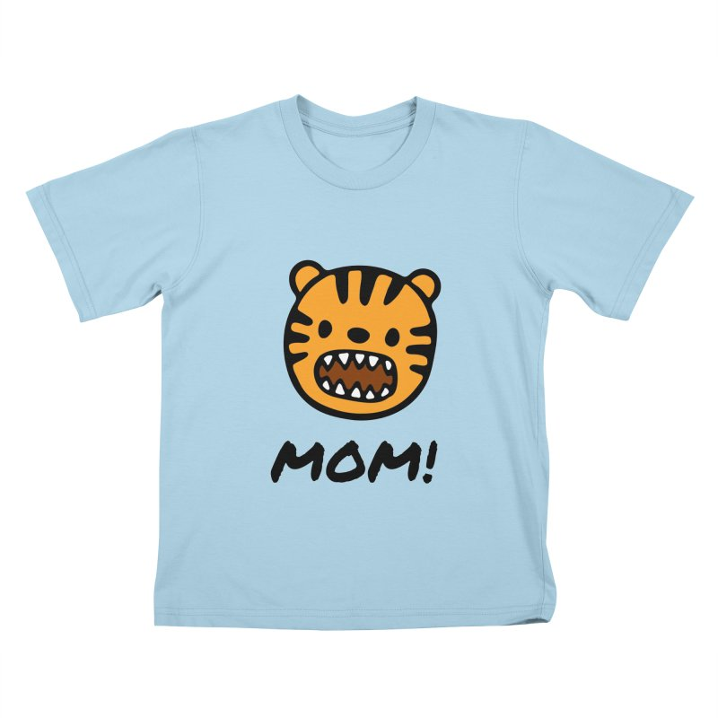 Tiger Mom Kids T-Shirt by Dark Helix's Artist Shop