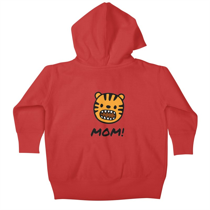 Tiger Mom Kids Baby Zip-Up Hoody by Dark Helix's Artist Shop