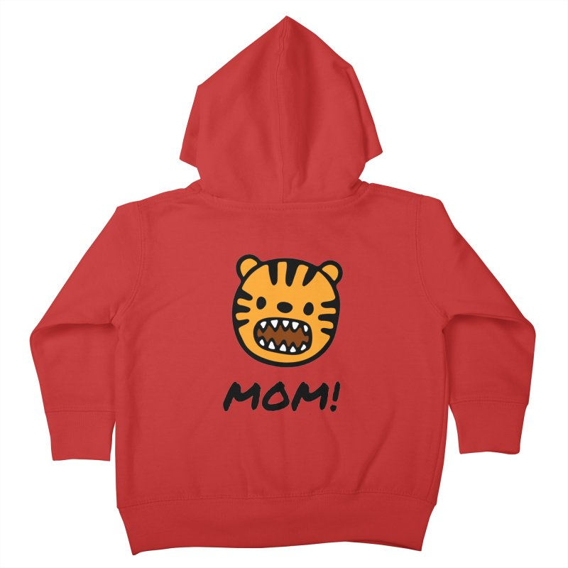 Tiger Mom Kids Toddler Zip-Up Hoody by Dark Helix's Artist Shop
