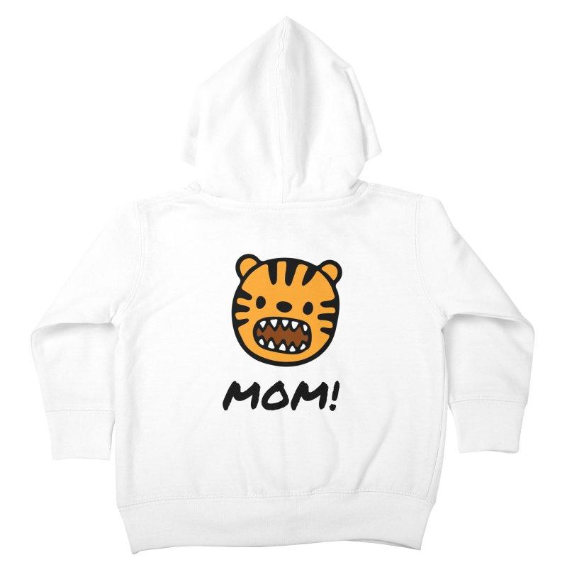 Tiger Mom Kids Toddler Zip-Up Hoody by Dark Helix's Artist Shop