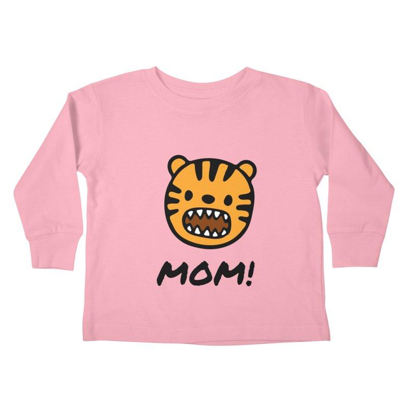 Tiger Mom Kids Toddler Longsleeve T-Shirt by Dark Helix's Artist Shop