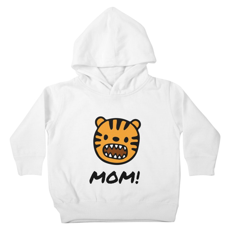 Tiger Mom Kids Toddler Pullover Hoody by Dark Helix's Artist Shop