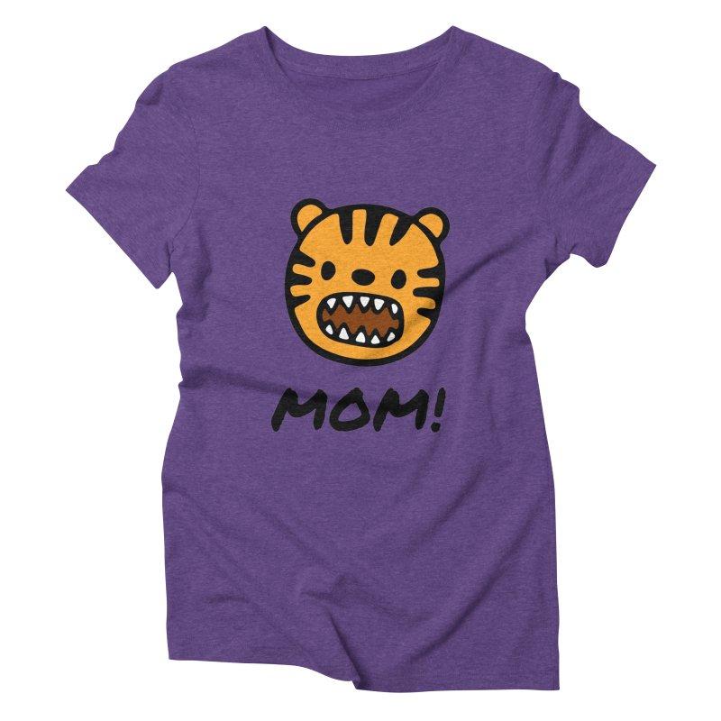 Tiger Mom Women's Triblend T-Shirt by Dark Helix's Artist Shop