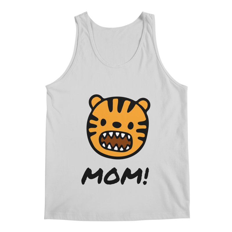 Tiger Mom Men's Regular Tank by Dark Helix's Artist Shop