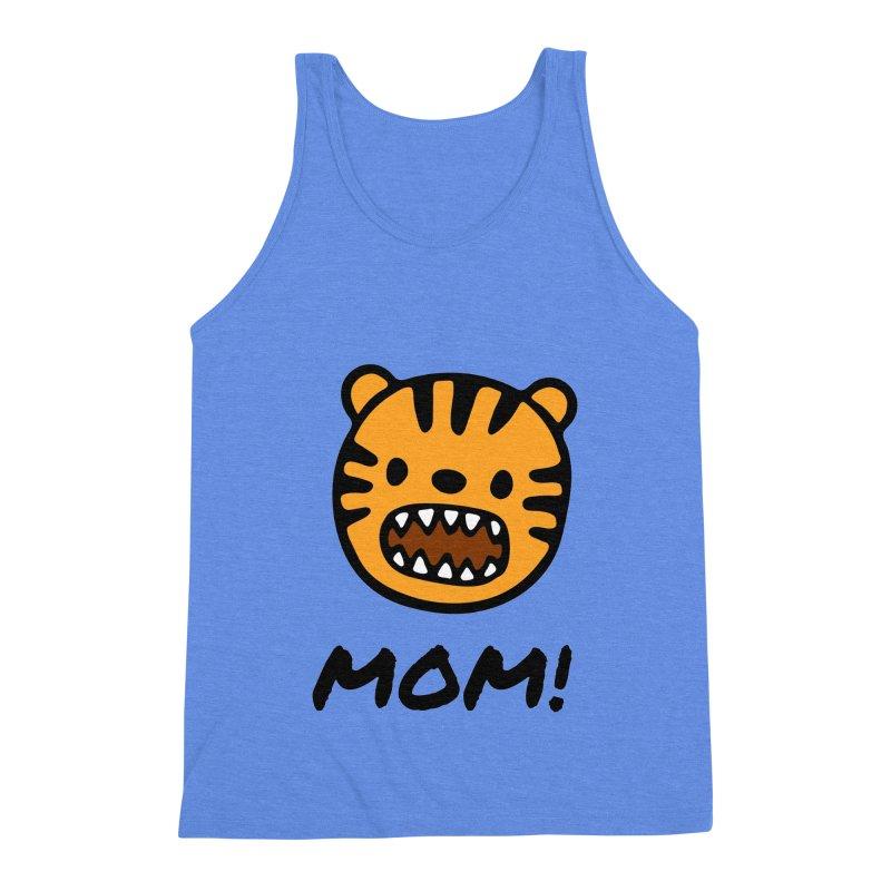 Tiger Mom Men's Triblend Tank by Dark Helix's Artist Shop