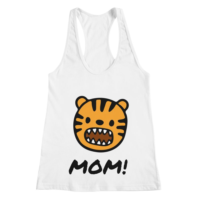 Tiger Mom Women's Racerback Tank by Dark Helix's Artist Shop