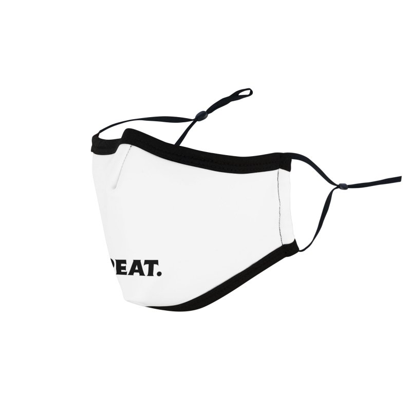 READ. EAT. SLEEP. REPEAT. Accessories Face Mask by Dark Helix's Artist Shop
