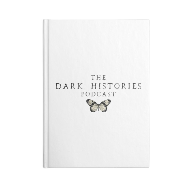 Dark Histories Butterfly Accessories Notebook by darkhistories's Artist Shop