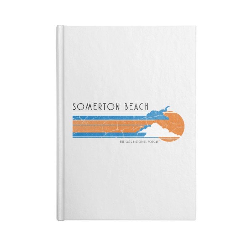 Somerton Beach Accessories Notebook by darkhistories's Artist Shop