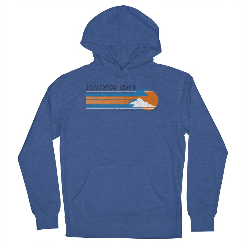 Somerton Beach Men's French Terry Pullover Hoody by darkhistories's Artist Shop