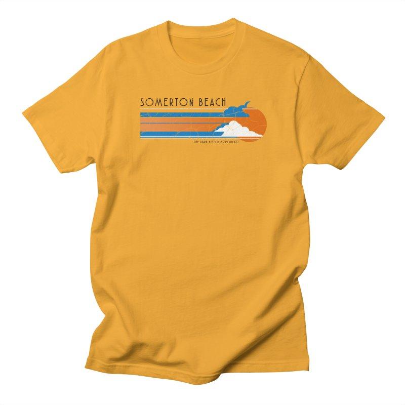 Somerton Beach Men's Regular T-Shirt by darkhistories's Artist Shop