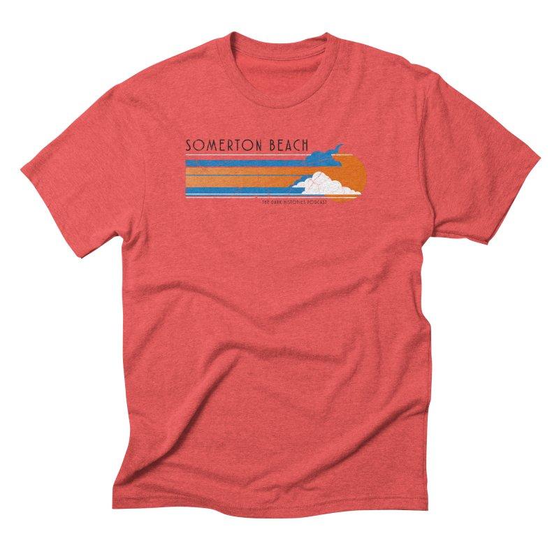 Somerton Beach Men's Triblend T-Shirt by darkhistories's Artist Shop
