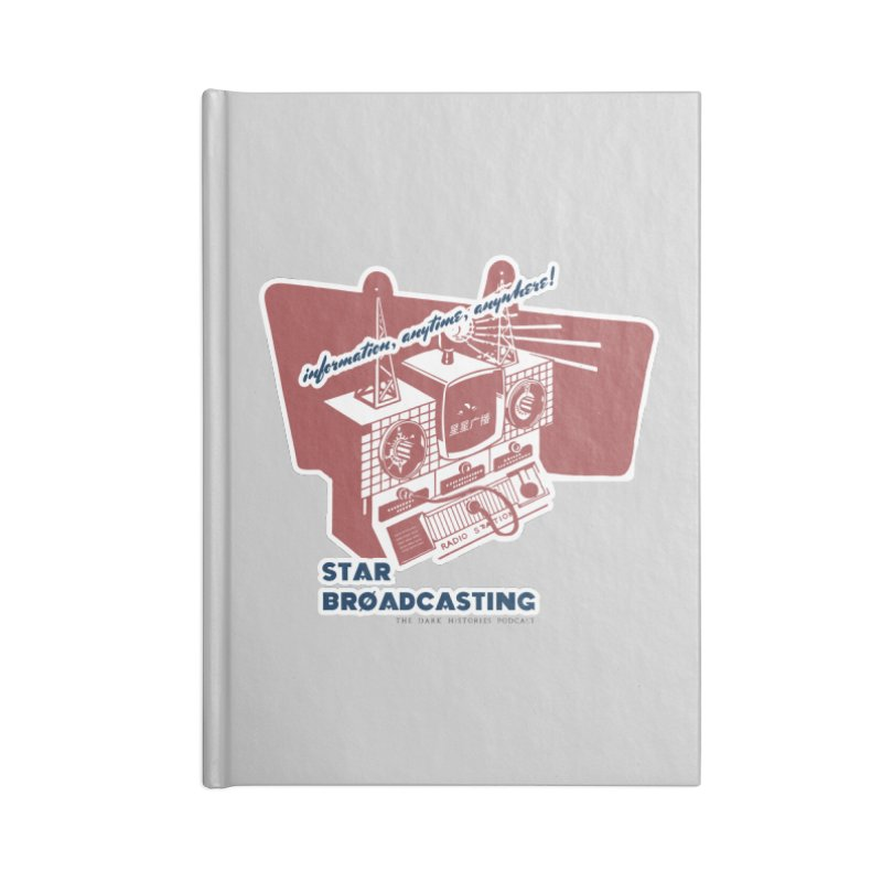 Star Broadcasting Numbers Station Accessories Notebook by darkhistories's Artist Shop