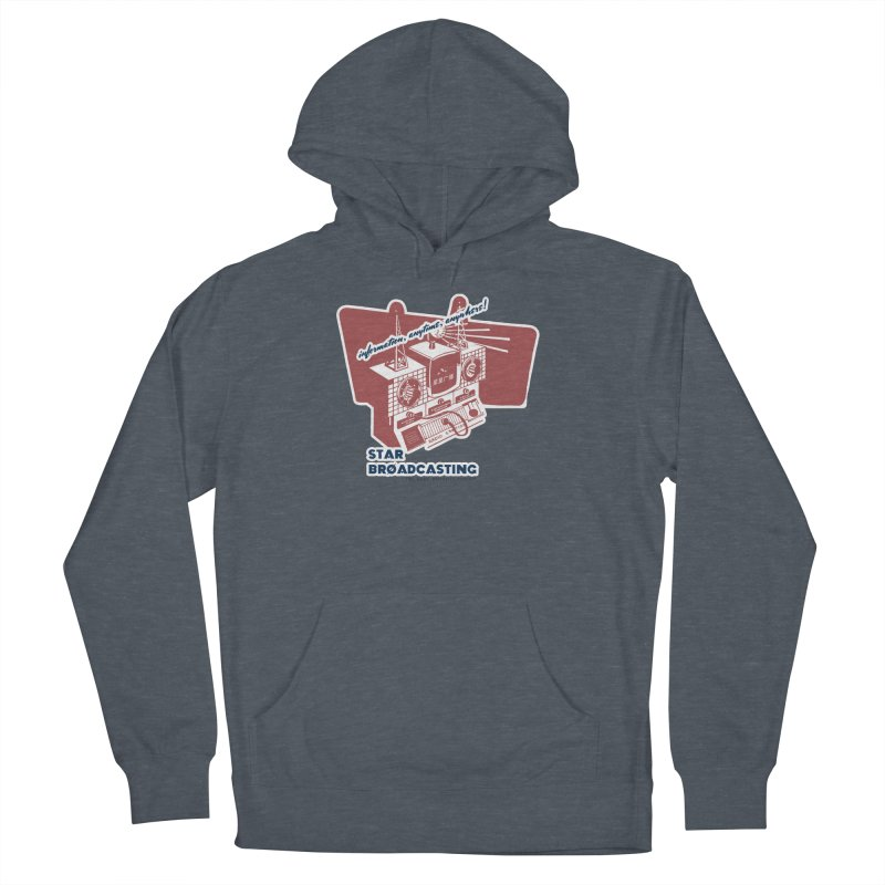 Star Broadcasting Numbers Station Women's French Terry Pullover Hoody by darkhistories's Artist Shop