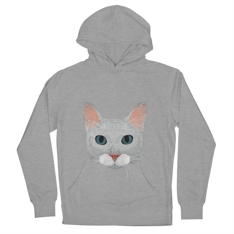 Cat Ramona Women's French Terry Pullover Hoody by darkodjordjevic's Artist Shop