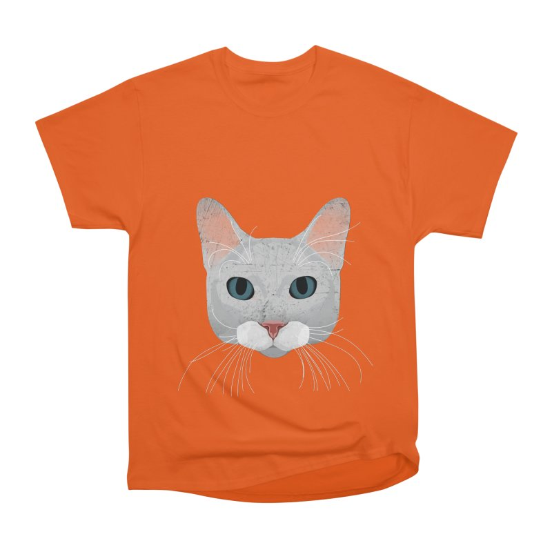 Cat Ramona Men's Heavyweight T-Shirt by darkodjordjevic's Artist Shop