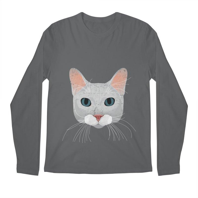 Cat Ramona Men's Longsleeve T-Shirt by darkodjordjevic's Artist Shop