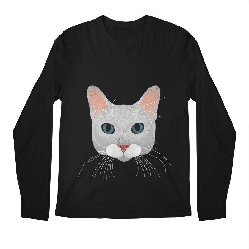 Cat Ramona Men's Regular Longsleeve T-Shirt by darkodjordjevic's Artist Shop