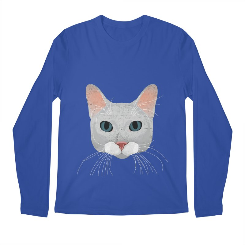 Cat Ramona Men's Longsleeve T-Shirt by darkodjordjevic's Artist Shop