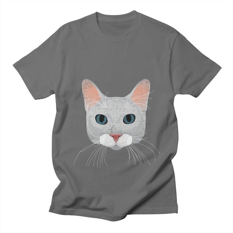 Cat Ramona Men's T-Shirt by darkodjordjevic's Artist Shop