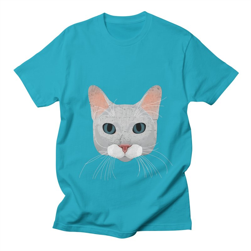 Cat Ramona Men's T-Shirt by darkodjordjevic's Artist Shop