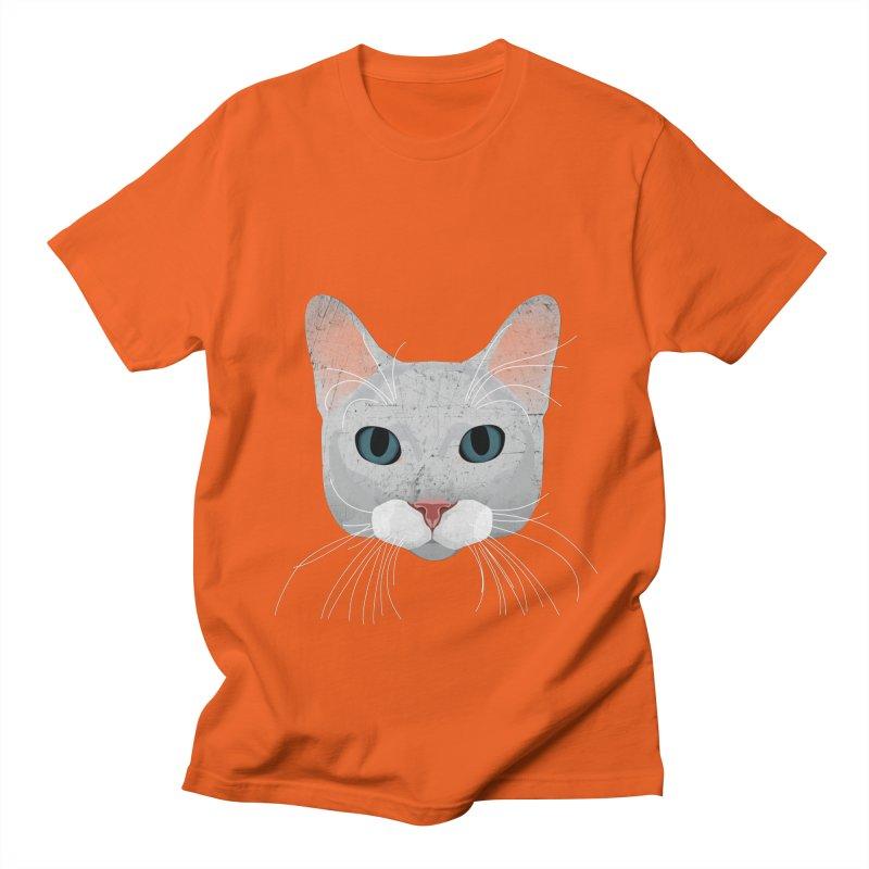 Cat Ramona Men's Regular T-Shirt by darkodjordjevic's Artist Shop