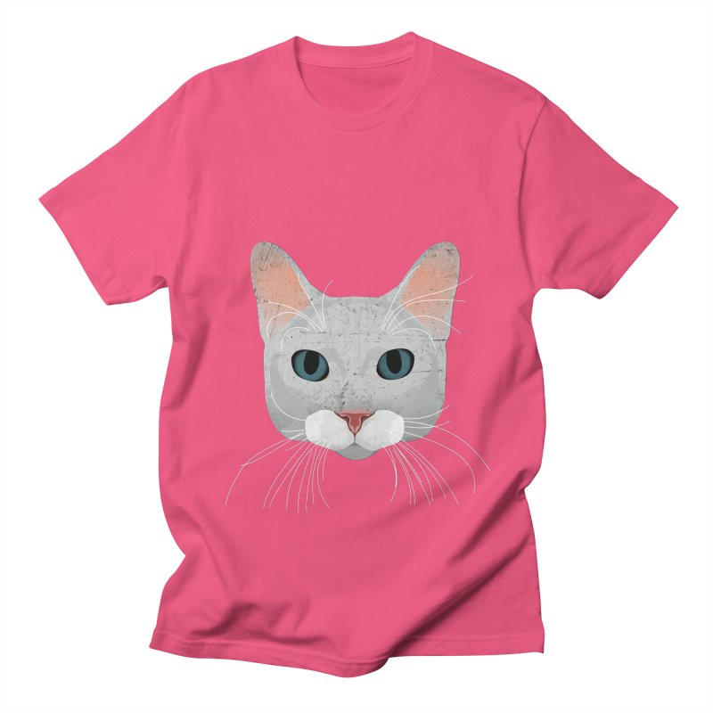 Cat Ramona Men's Regular T-Shirt by darkodjordjevic's Artist Shop
