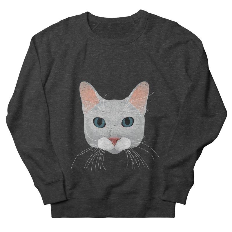 Cat Ramona Women's French Terry Sweatshirt by darkodjordjevic's Artist Shop
