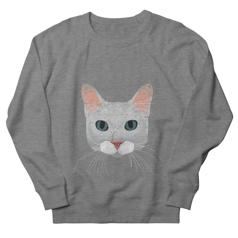 Cat Ramona Men's French Terry Sweatshirt by darkodjordjevic's Artist Shop
