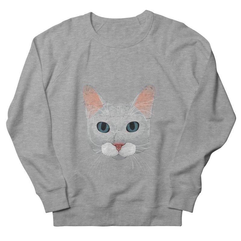 Cat Ramona Men's French Terry Sweatshirt by darkodjordjevic's Artist Shop