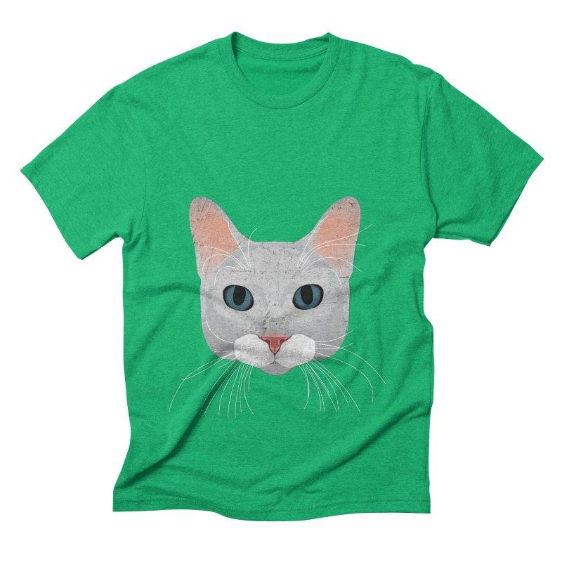 Cat Ramona Men's Triblend T-Shirt by darkodjordjevic's Artist Shop