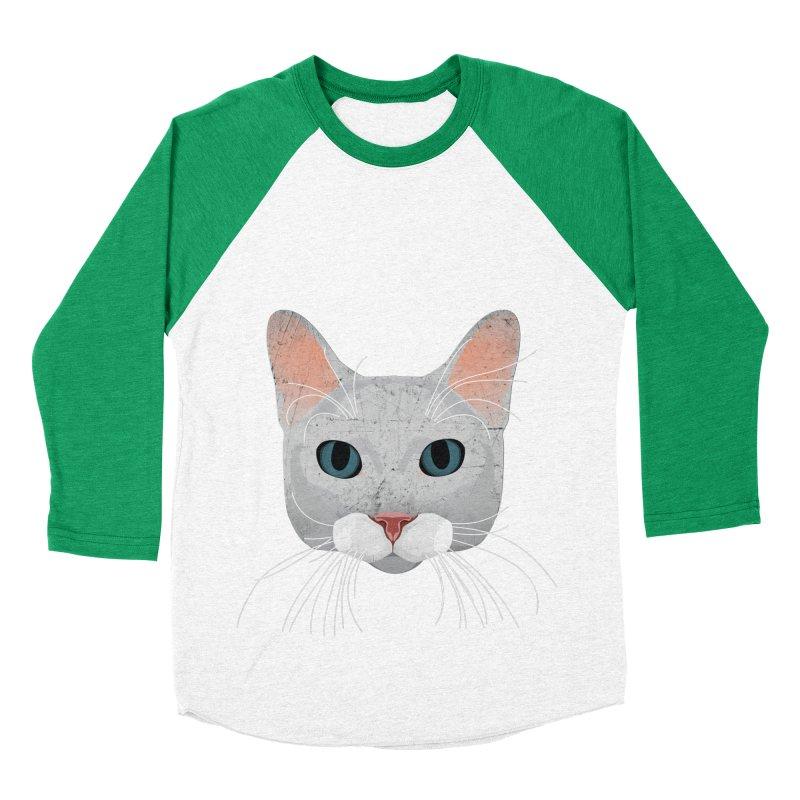 Cat Ramona Women's Baseball Triblend Longsleeve T-Shirt by darkodjordjevic's Artist Shop