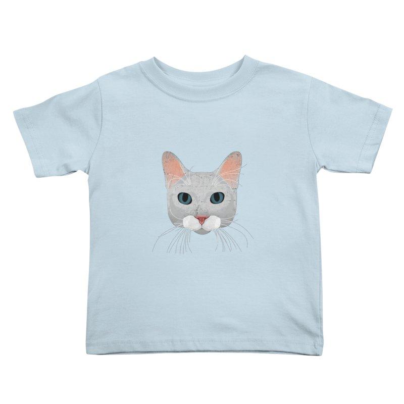 Cat Ramona Kids Toddler T-Shirt by darkodjordjevic's Artist Shop