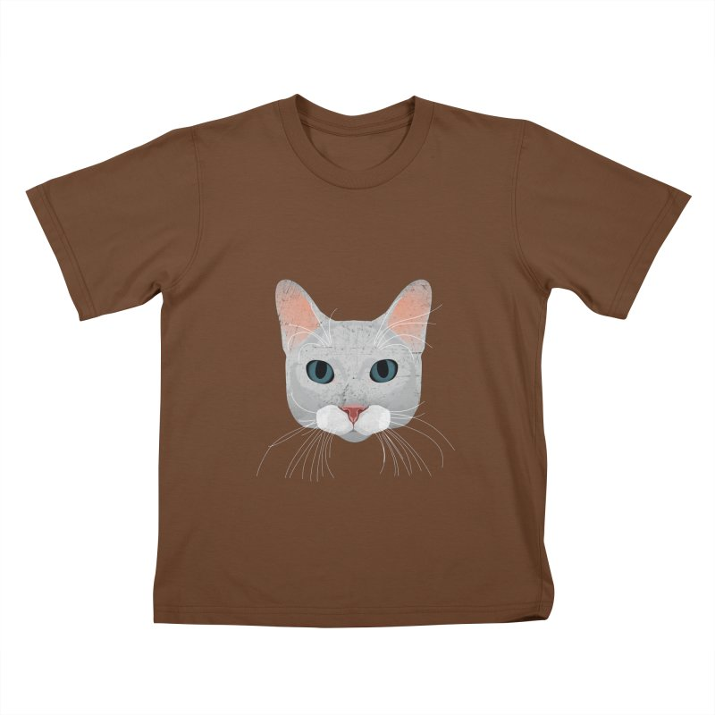 Cat Ramona Kids T-Shirt by darkodjordjevic's Artist Shop