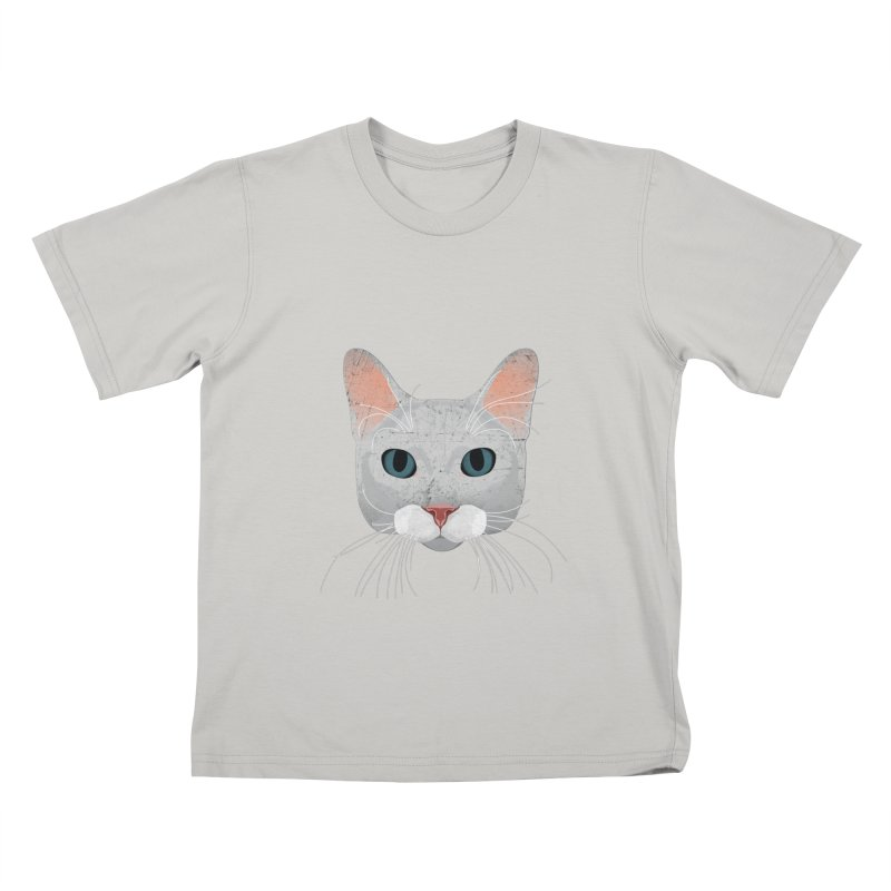 Cat Ramona Kids T-Shirt by darkodjordjevic's Artist Shop