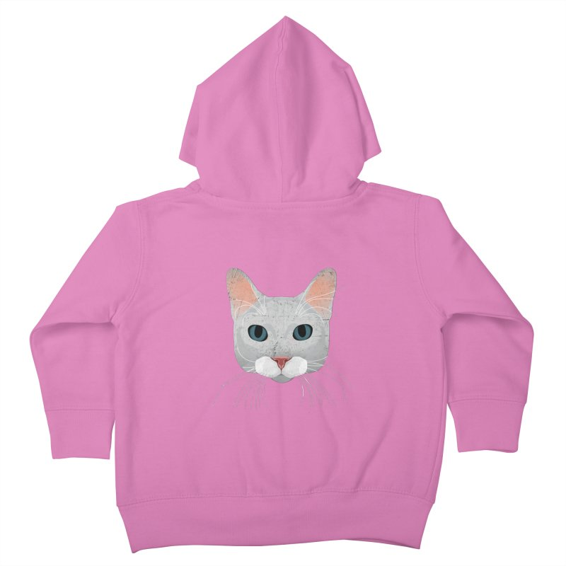 Cat Ramona Kids Toddler Zip-Up Hoody by darkodjordjevic's Artist Shop