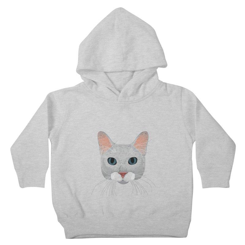 Cat Ramona Kids Toddler Pullover Hoody by darkodjordjevic's Artist Shop